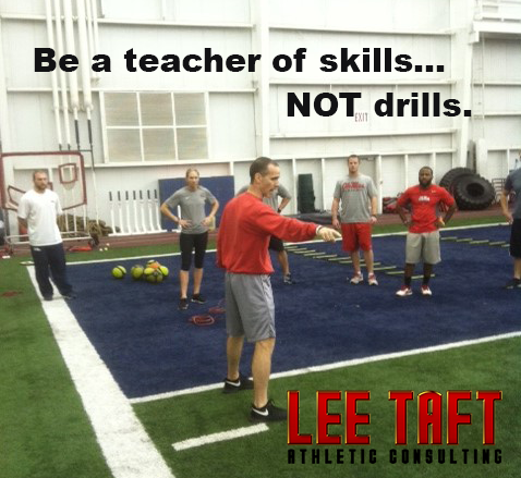 anatomy of a speed drill