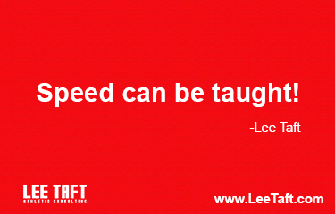 Lee Taft Speed can be taught